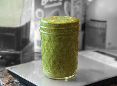 Maple Pumpkin Kale Oatmeal Smoothie