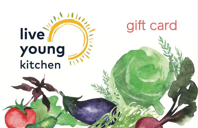 Live Young Kitchen Gift Card