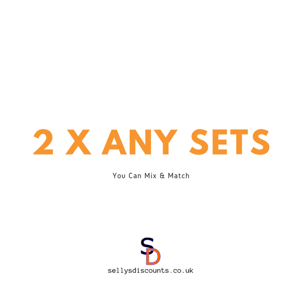 2 x Any Sets - sellys-discount-store