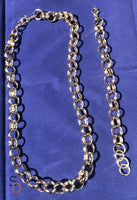 Smooth Necklace & Smooth Bracelet - Set - sellys-discount-store