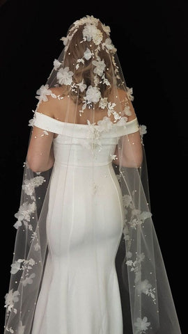 veil talk wedding dress