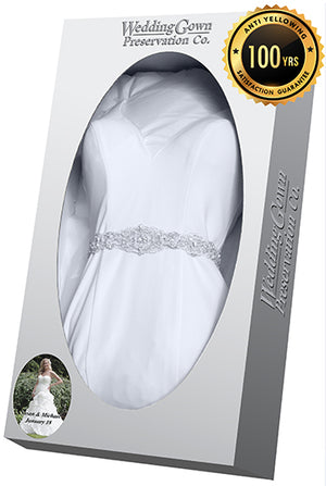Trusted Wedding Gown Preservation Kit By 3 000 000 Brides Since 1913