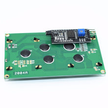 Load image into Gallery viewer, 1PCS LCD2004+I2C 2004 20x4 2004A Blue/Green screen HD44780  Character LCD /w IIC/I2C Serial Interface Adapter Module for arduino