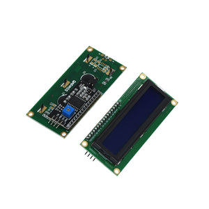 1PCS SAMIORE ROBOT Serial Board Module Port PCF8574 IIC/I2C/TWI/SPI Interface Module 1602 LCD Display