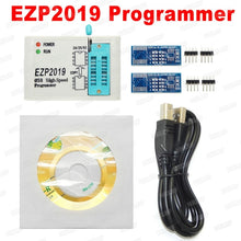 Load image into Gallery viewer, 2019 Newest EZP2019 High-Speed USB SPI Programmer+5 Adapters Support 24 25 93 EEPROM 25 Flash Bios Chip
