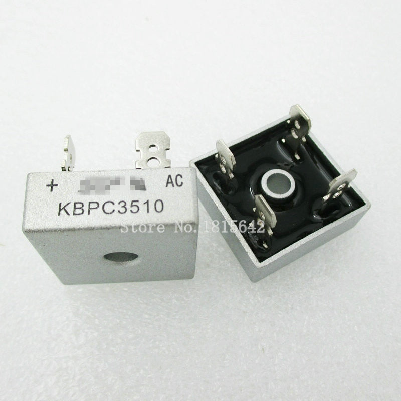 2PCS/LOT KBPC3510 35A 1000V Diode Bridge Rectifier Original
