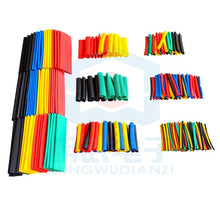 Load image into Gallery viewer, 328Pcs Car Electrical Cable Tube kits Heat Shrink Tube Tubing Wrap Sleeve Assorted 8 Sizes Mixed Color