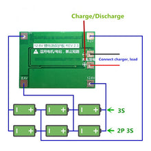 Load image into Gallery viewer, 3S 40A Li-ion Lithium Battery Charger Lipo Cell Module PCB BMS Protection Board For Drill Motor 12.6V with Balance