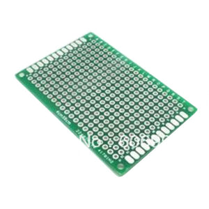 4pcs/lot 4x6 5x7 6x8 7x9 Double Side Prototype PCB Universal Printed Circuit Board Protoboard For Arduino