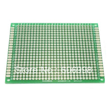 Load image into Gallery viewer, 4pcs/lot 4x6 5x7 6x8 7x9 Double Side Prototype PCB Universal Printed Circuit Board Protoboard For Arduino