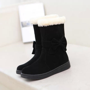 Winter snow boots warm cotton boots