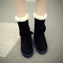 Load image into Gallery viewer, Winter snow boots warm cotton boots
