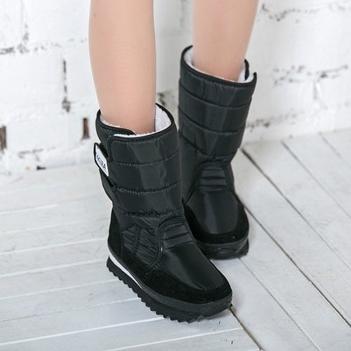 Fashion Ladies winter boots snow boot New arrivals Flat with  Warm Woman boots  DMG