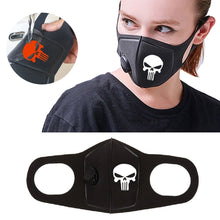 Load image into Gallery viewer, Respiratory Dust Mask Upgraded Version Men & Women Anti-fog Haze Dust Pm2.5 Pollen 3D Cropped Breathable Valve Skull Mouth Mask