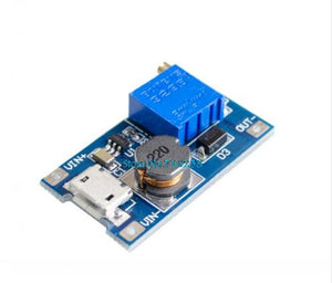 5pcs/lot MT3608 2A Max DC-DC Step Up Power Module Booster Power Module For