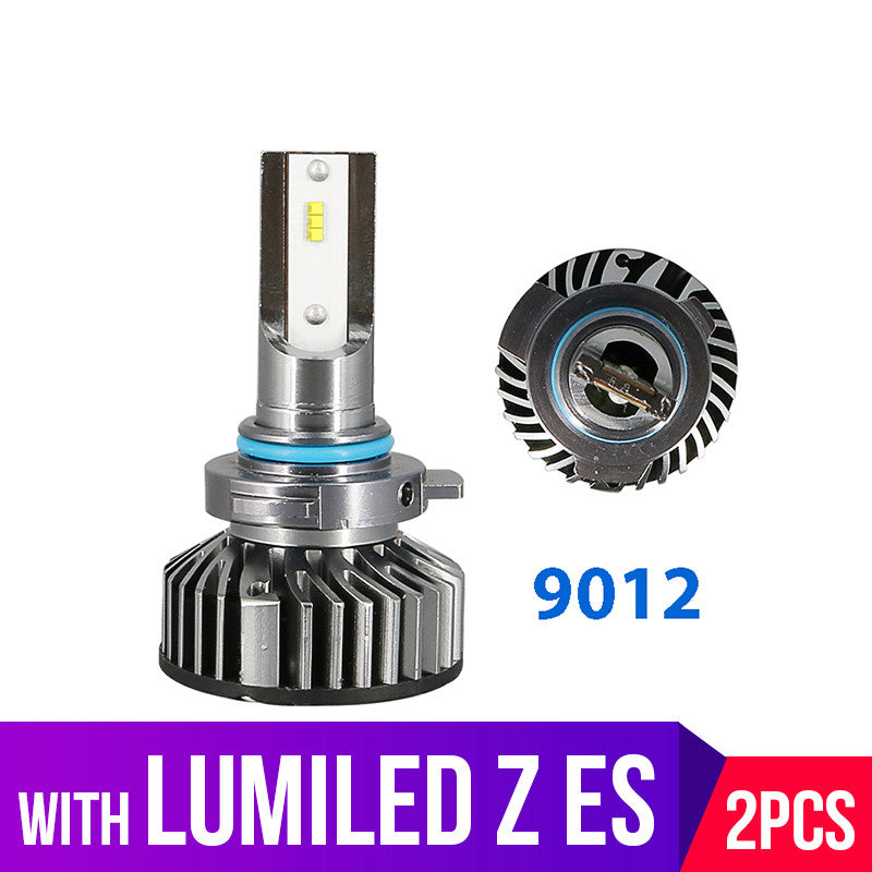 Lolstone Mini 12000LM 9012 LED HIR2 Car Headlight Bulbs With Lumiled Luxeon ZES Chips CSP Auto 12V diode lamps for cars Motorcycle