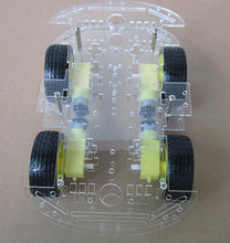 Load image into Gallery viewer, Free shipping 4WD Smart Robot Car Chassis Kits for arduino with Speed Encoder New