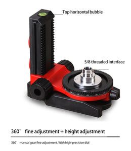 LETER L-type multi-function bracket ceiling dedicated base laser level magnetic magnetic wall mount extension and tripod tripod
