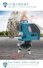 Load image into Gallery viewer, LETER  12Lines 3D  Laser Level Self-Leveling 360 degree  Laser Beam Line High precision