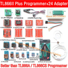 Load image into Gallery viewer, Original RT809F programmer +12 Adapters+sop8 IC clip+CD+1.8V / SOP8 Adapter VGA LCD ISP programmer adapter universal programmer