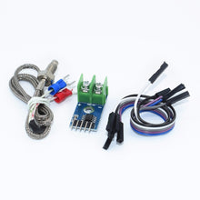 Load image into Gallery viewer, MAX6675 Module + K Type Thermocouple Thermocouple Senso Temperature Degrees Module for arduino