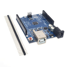 Load image into Gallery viewer, Free shipping high quality UNO R3 MEGA328P CH340G for Arduino Compatible NO USB CABLE MEGA 2560