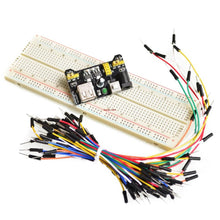 Load image into Gallery viewer, 65pcs/Lot New Solderless Flexible Breadboard Jumper wires Cables Bread plate line