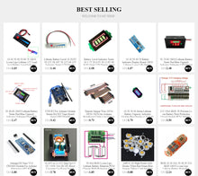Load image into Gallery viewer, Battery Level Indicator 18650 Lipo Lithium Capacity Tester Meter 1S 2S 3S 4S 5S 6S 7S 12V 24V 36V 48V Module Electronic DIY Kit