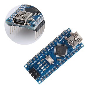 for Arduino Nano V3.0, Nano board ATmega328P 5V 16M Micro-controller board with USB cable (Nano x 5 + cable)