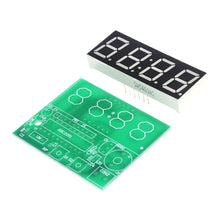 Load image into Gallery viewer, High Quality C51 4 Bits Electronic Clock Electronic Production Suite DIY Kits C51 Electronic Clock
