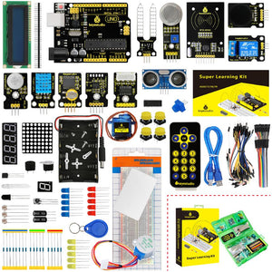 Keyestudio Super Starter kit/Learning  Kit(UNO R3) for Arduino UNO R3 Projects  W/Gift Box+ 32 Projects +User Manual+PDF(online)