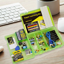 Load image into Gallery viewer, Keyestudio Super Starter kit/Learning  Kit(UNO R3) for Arduino UNO R3 Projects  W/Gift Box+ 32 Projects +User Manual+PDF(online)