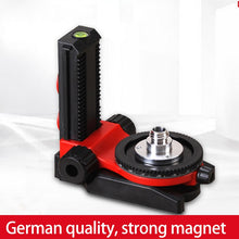 Load image into Gallery viewer, LETER L-type multi-function bracket ceiling dedicated base laser level magnetic magnetic wall mount extension and tripod tripod