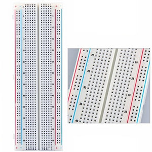 MB-102 Breadboard 170/400/830 Point Solderless Prototype PCB Board Kit for Arduino Proto Shield Distribution Connecting Blocks
