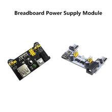 Load image into Gallery viewer, MB-102 Module 2 Channel Board MB102 DC 7-12V Micro USB Interface Breadboard Power Supply Module for arduino Diy Kit