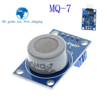 Load image into Gallery viewer, MQ-2 MQ-3 MQ-4 MQ-5 MQ-6 MQ-7 MQ-8 MQ-9 MQ-135 Detection Smoke methane liquefied Gas Sensor Module for Arduino Starter DIY Kit