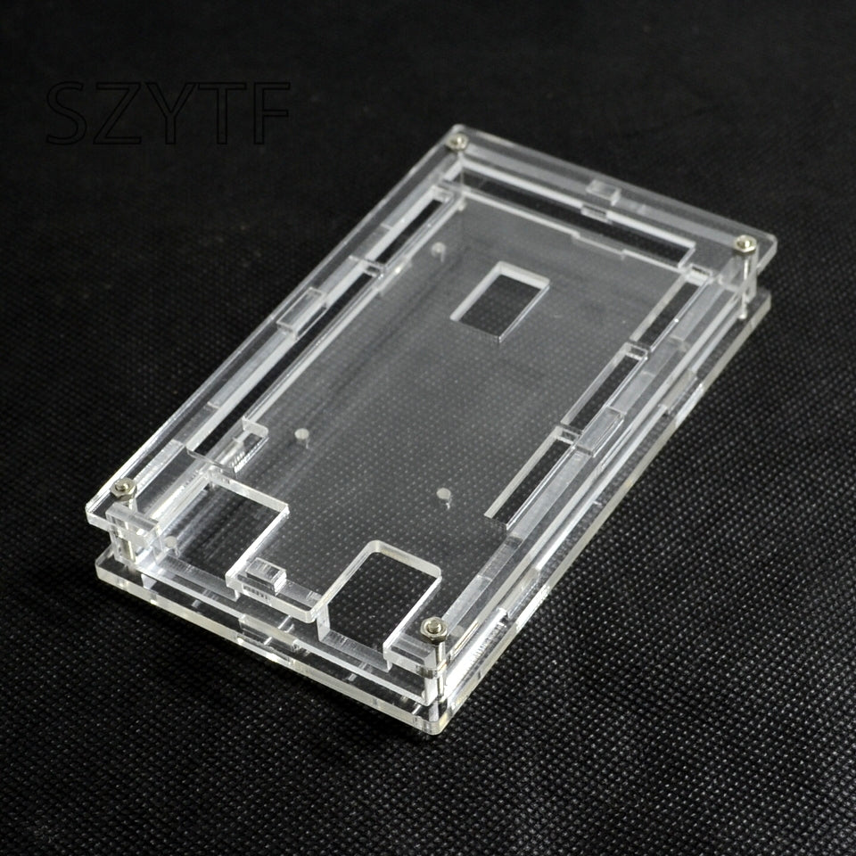 Mega2560 Transparent Acrylic Box shell Compatible for arduino Mega 2560 R3 Case