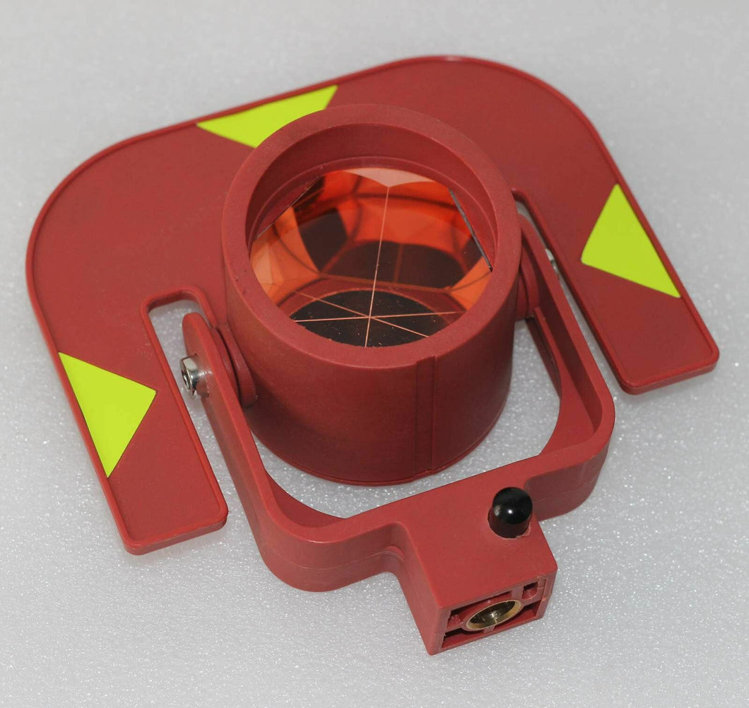 NEW Red single prism for total stations surveying replace GPR111