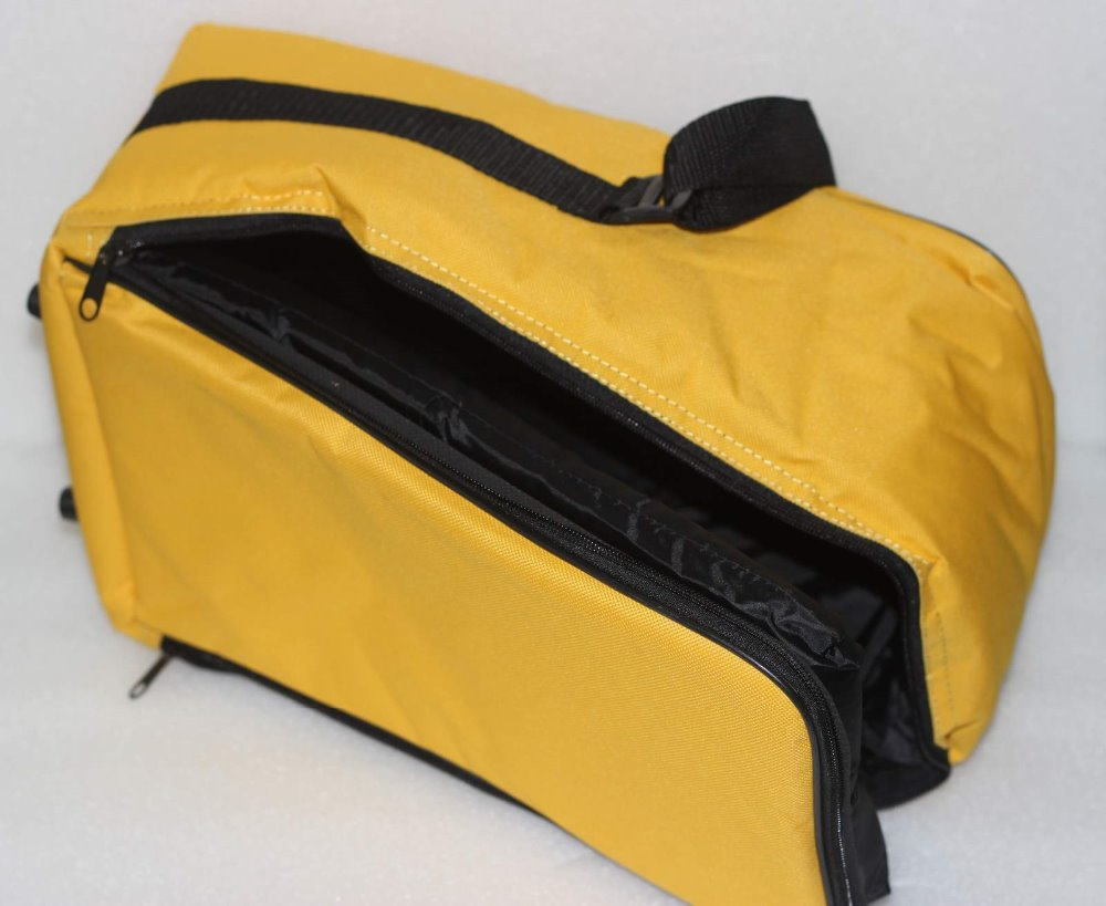 New LETER Yellow Kitbag for Prism SET High Quality SOFT BAG, Size: 38 x 24 x 18cm