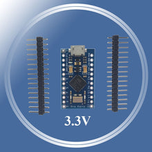 Load image into Gallery viewer, New Pro Micro 3.3V 8Mhz for arduino ATmega32U4 5V/16MHz Module with 2 row pin header For Leonardo