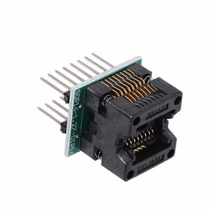 SOP16 TO DIP16 IC Socket SOP16 Turn DIP16 Programmer Adapter 150mil Write Seat