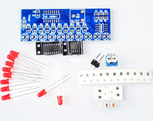 Load image into Gallery viewer, Smart Electronics Kits NE555+CD4017 Light Water Flowing Light LED Module DIY Kit