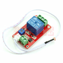 Load image into Gallery viewer, Switch Photoresistor Relay Module Light Detection Sensor 12V Car Light Control