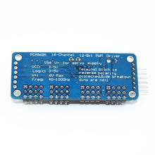Load image into Gallery viewer, TENSTAR ROBOT 16 Channel 12-bit PWM/Servo Driver-I2C interface PCA9685 module Raspberry pi shield module servo shield