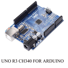 Load image into Gallery viewer, UNO R3 Development Board ATmega328P CH340 CH340G For Arduino UNO R3 With Straight Pin Header