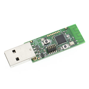 Wireless CC2531 Sniffer Bare Board Packet Protocol Analyzer Module USB Programmer Downloader Cable Connector