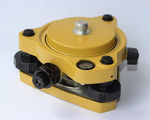 Yellow GPS Carrier Fixed Adapter with 5/8 rotate & Tribrach With Optical plummet