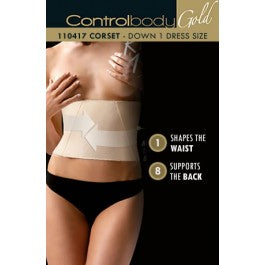 Control Body Boned Corset - Firm Support VariousS/