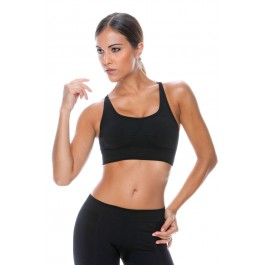 Control Body Sport 110705 Nero Sports Bra M/L