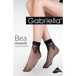 Gabriella Bea 697 Nero Socks One Size